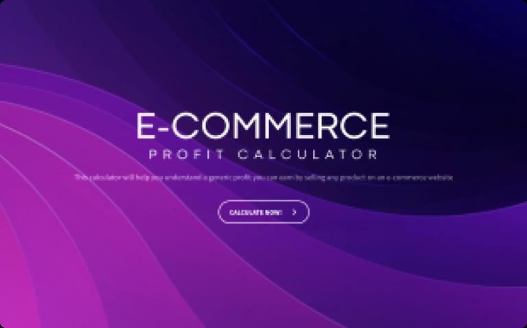 e-commerce profit calculator