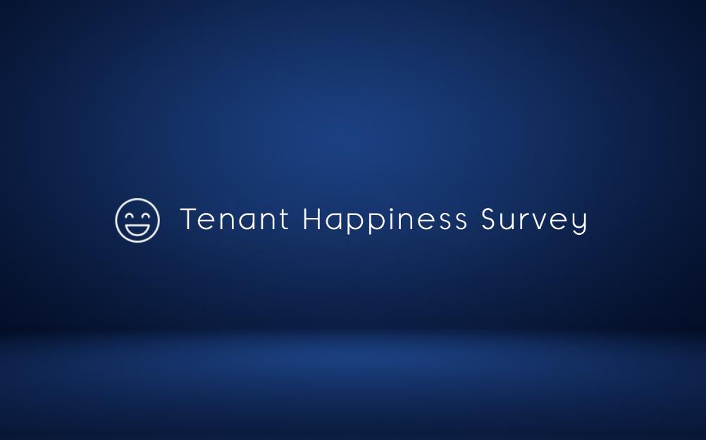 tenant satisfaction survey template