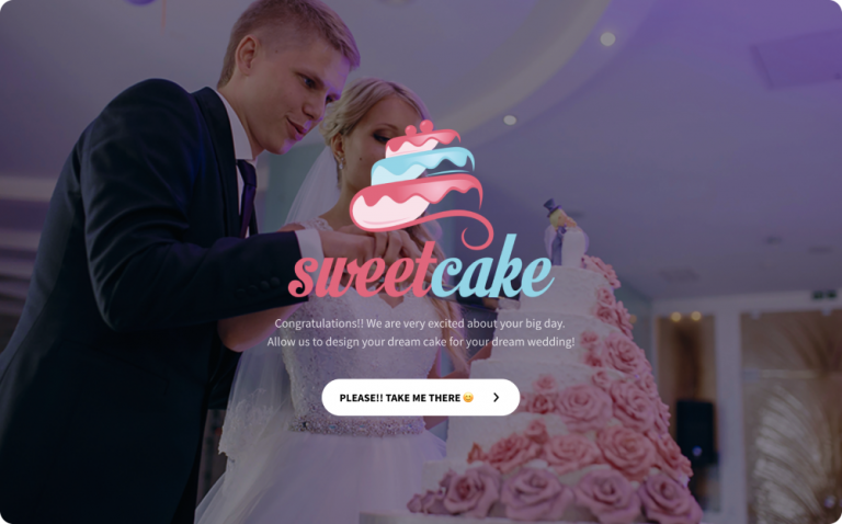 wedding cake order form template
