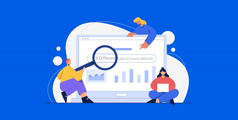 Different types of survey methods