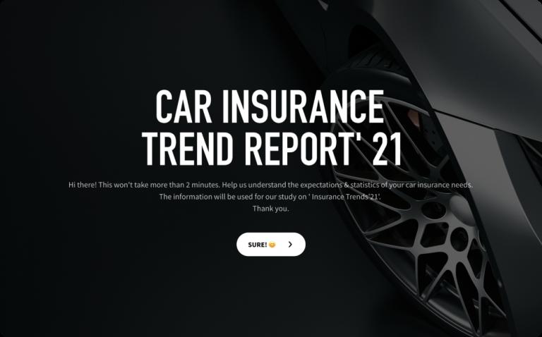 car insurance survey template