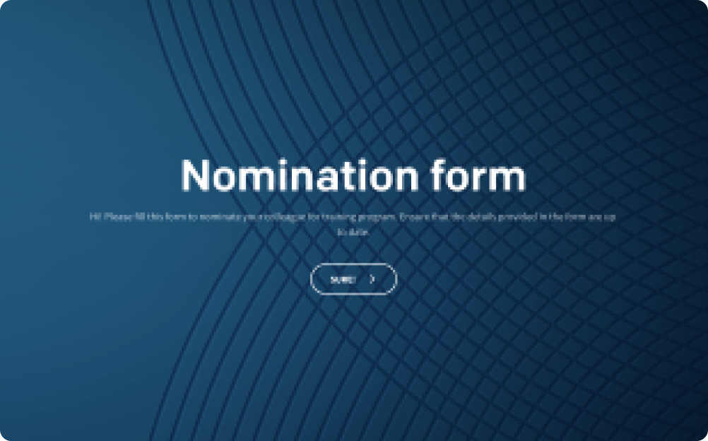 nomination form template