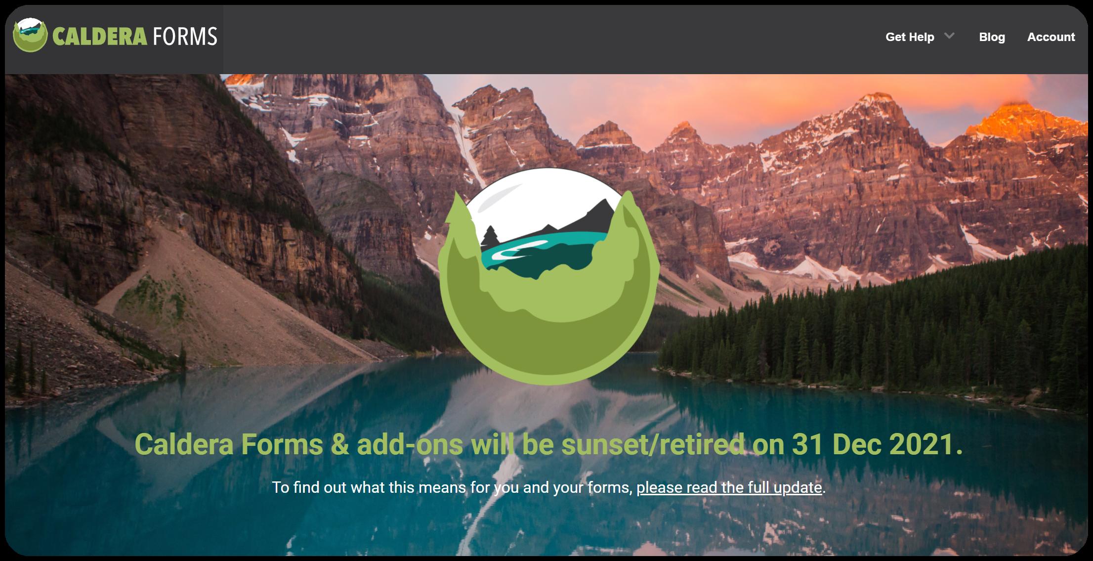 Caldera Forms - WordPress form builder