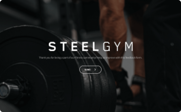 online gym feedback form template