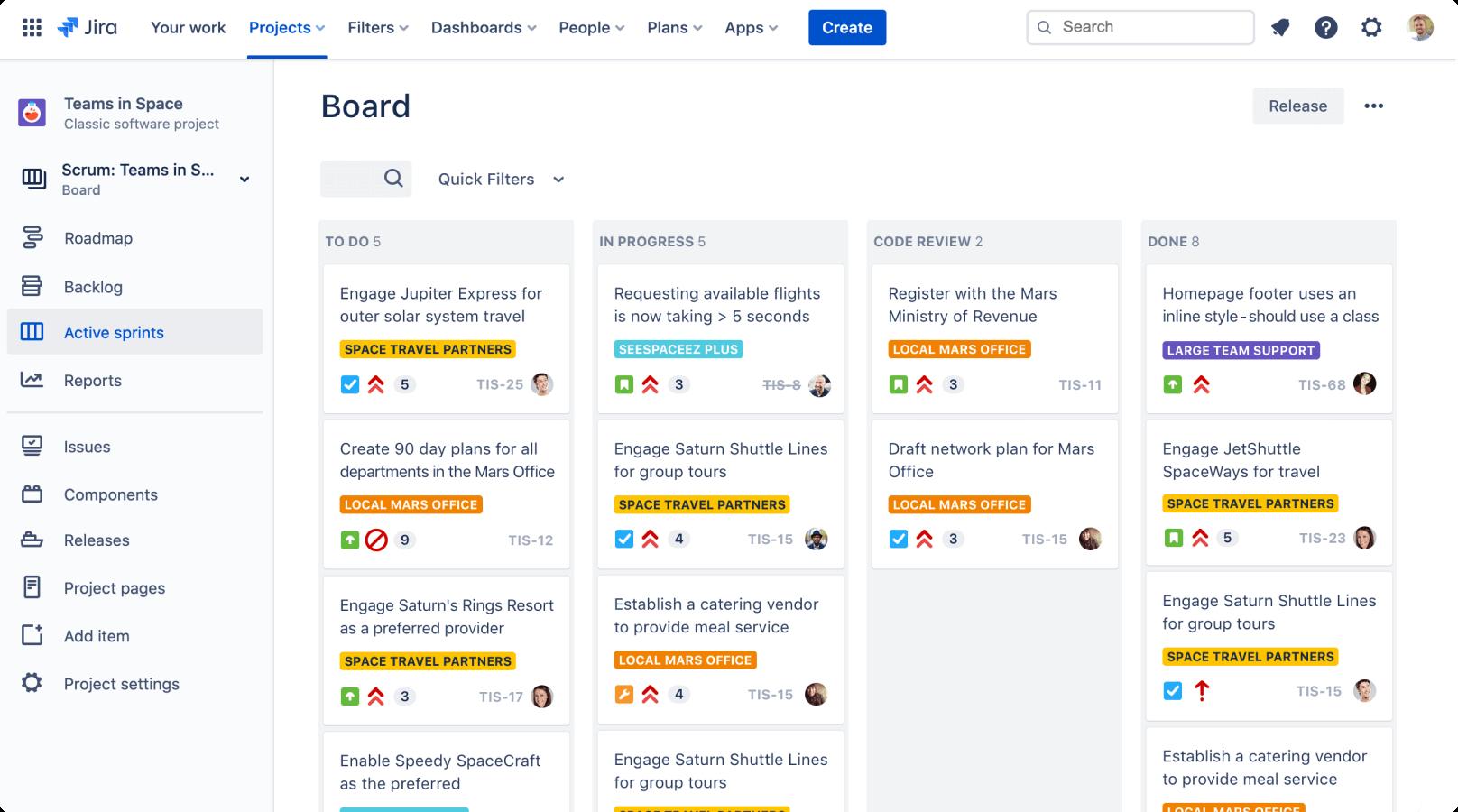 Agile tool for Atlassian users - JIRA