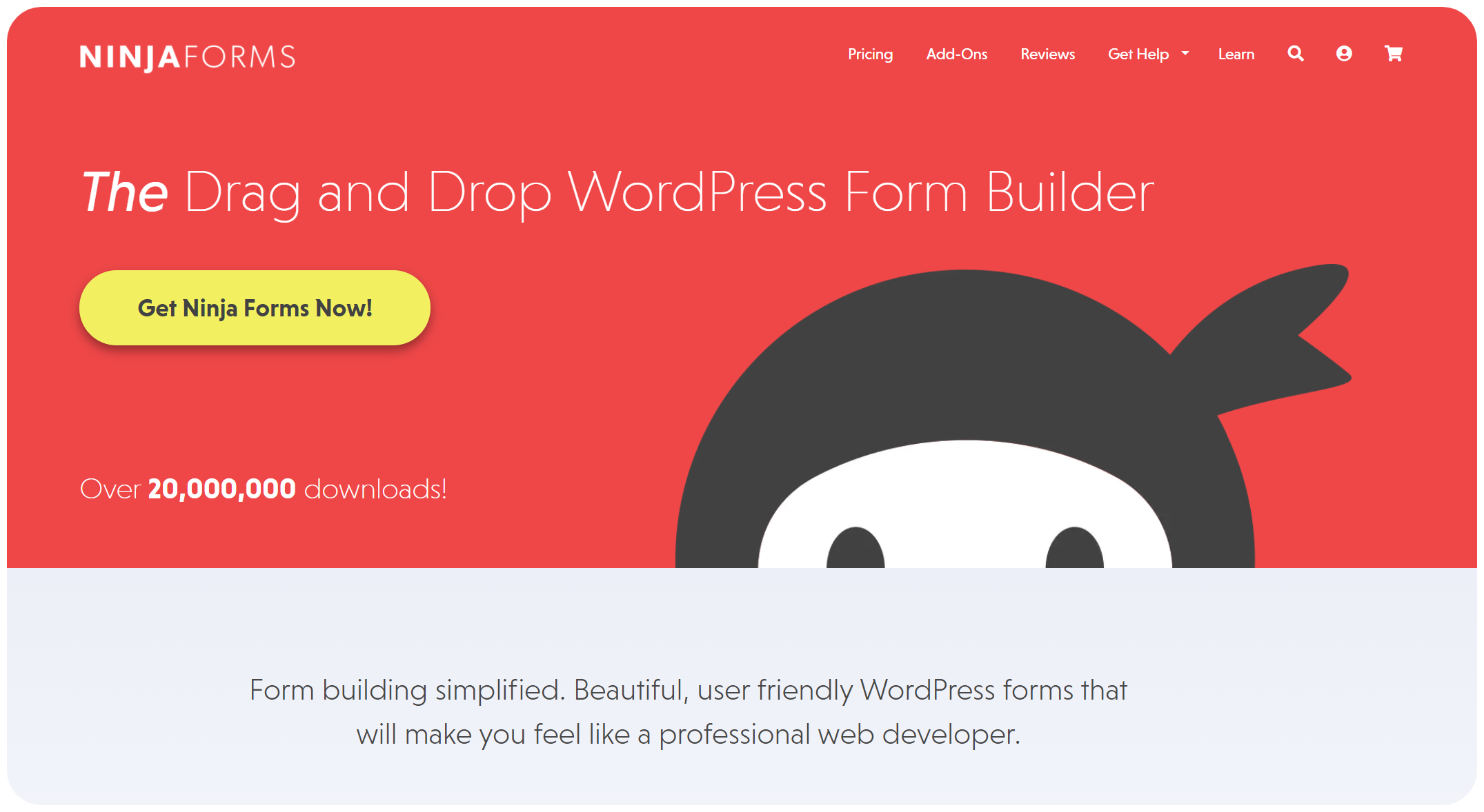 Ninja Forms - WordPress Form Builder