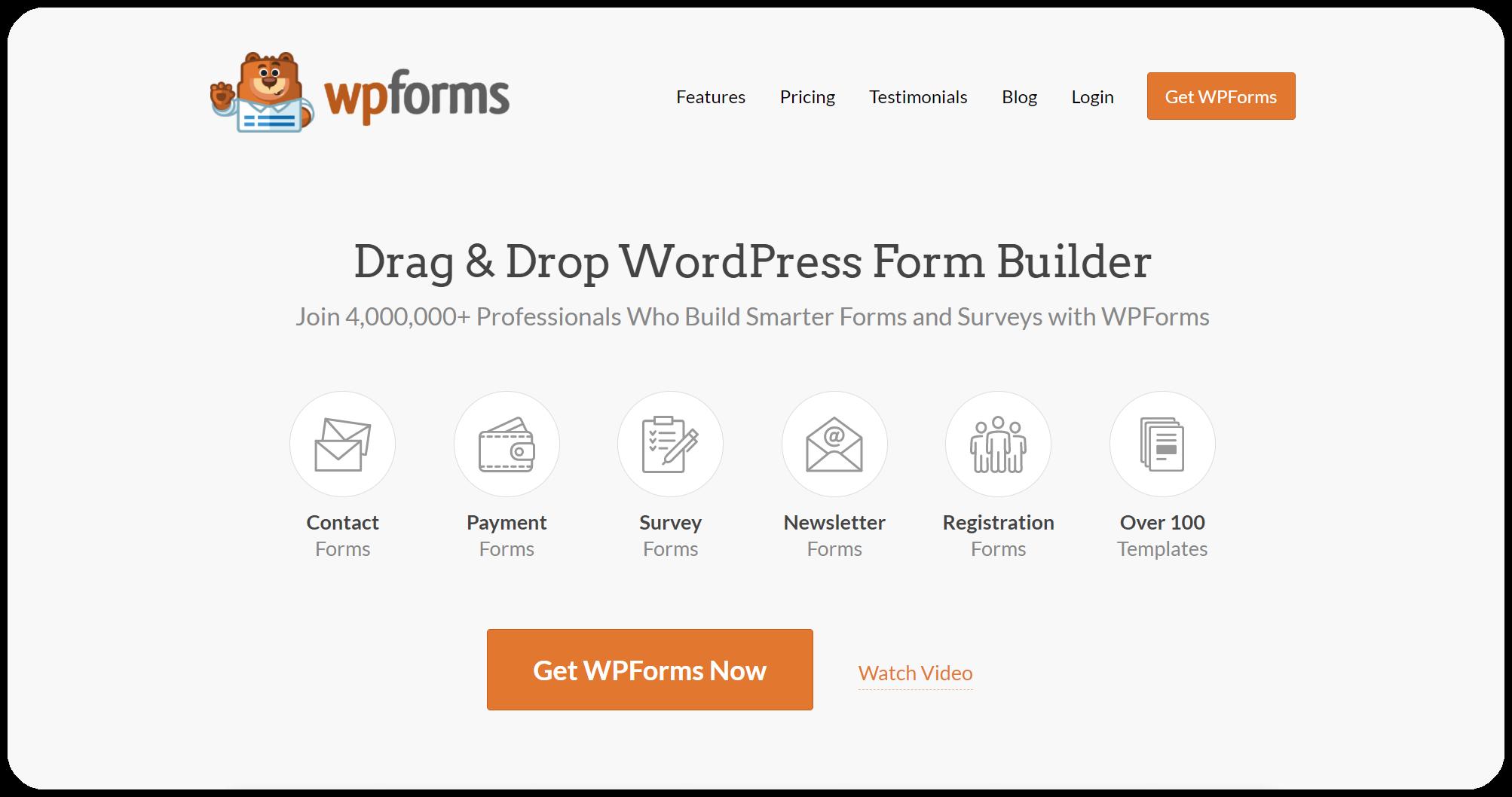 WPForms - wordpress contact forms