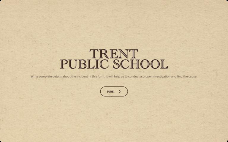 School Incident Report Form